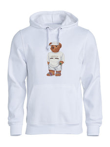 Limited Cally The Bear -  White Jilly sweater