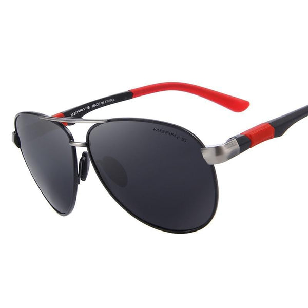 Polarized sunglasses with stylish frame - woodenaccessoriesstore.com