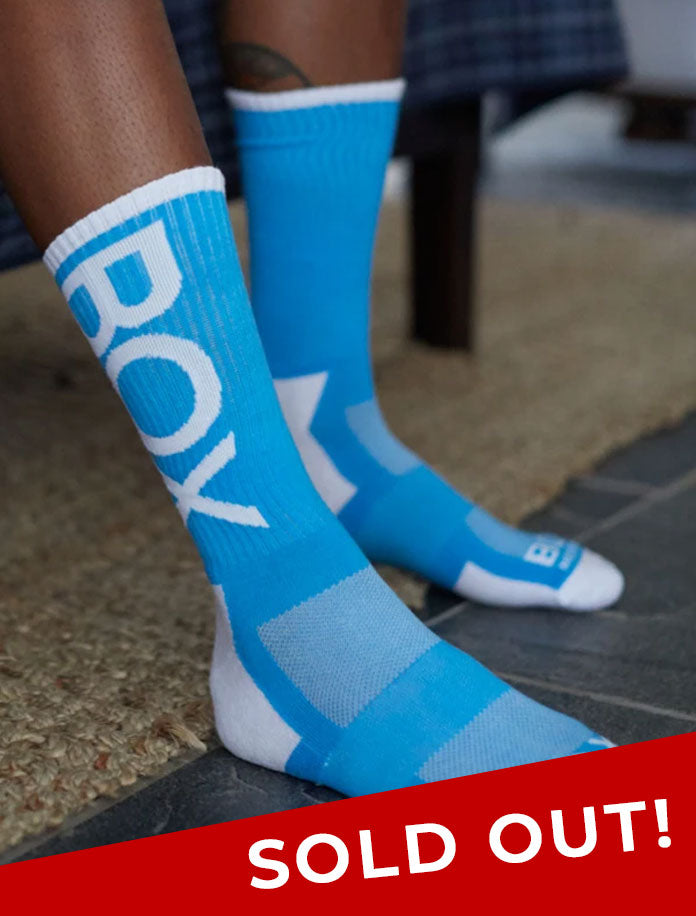 Lux Sports Socks - Blue