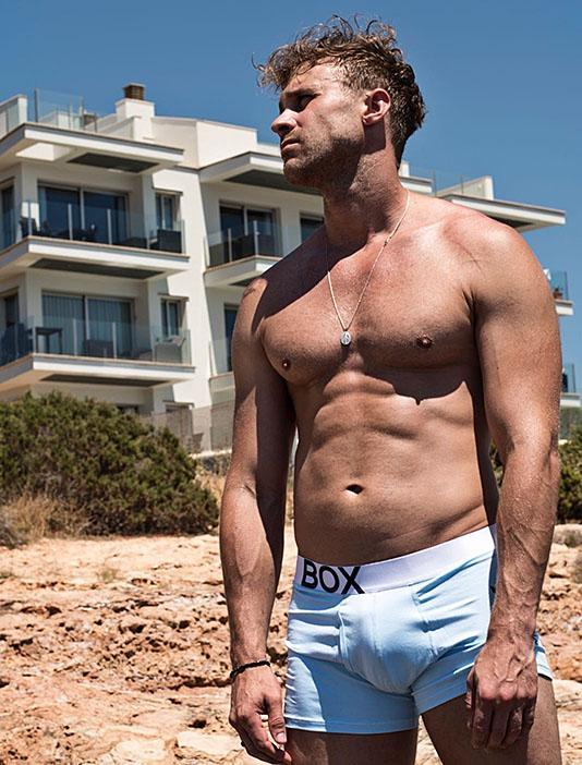 Ross Norton Blue Bulge boxer shorts briefs