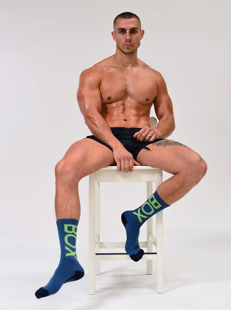 Box Sports Socks - Blue Force One