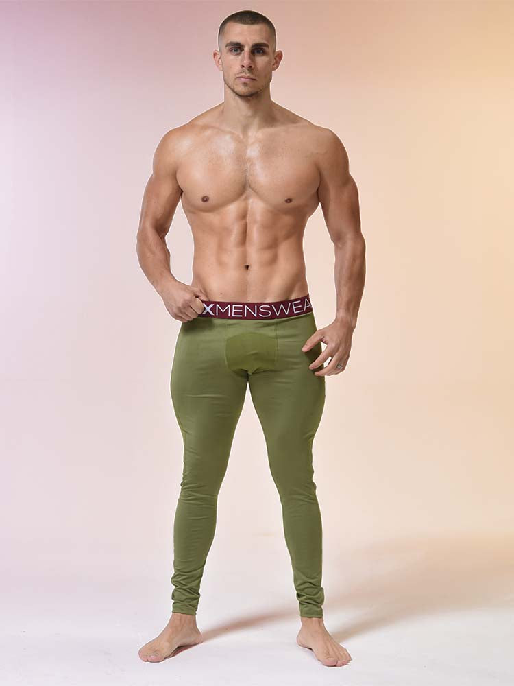 Compression Leggings - Military Green