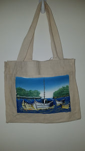 Canvas Boat Handbag