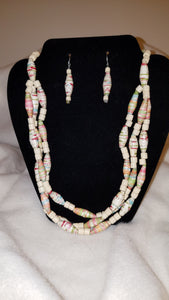 Necklace Set-Three Strand