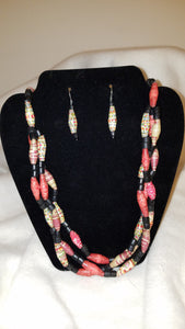 Three Strand Necklace Set