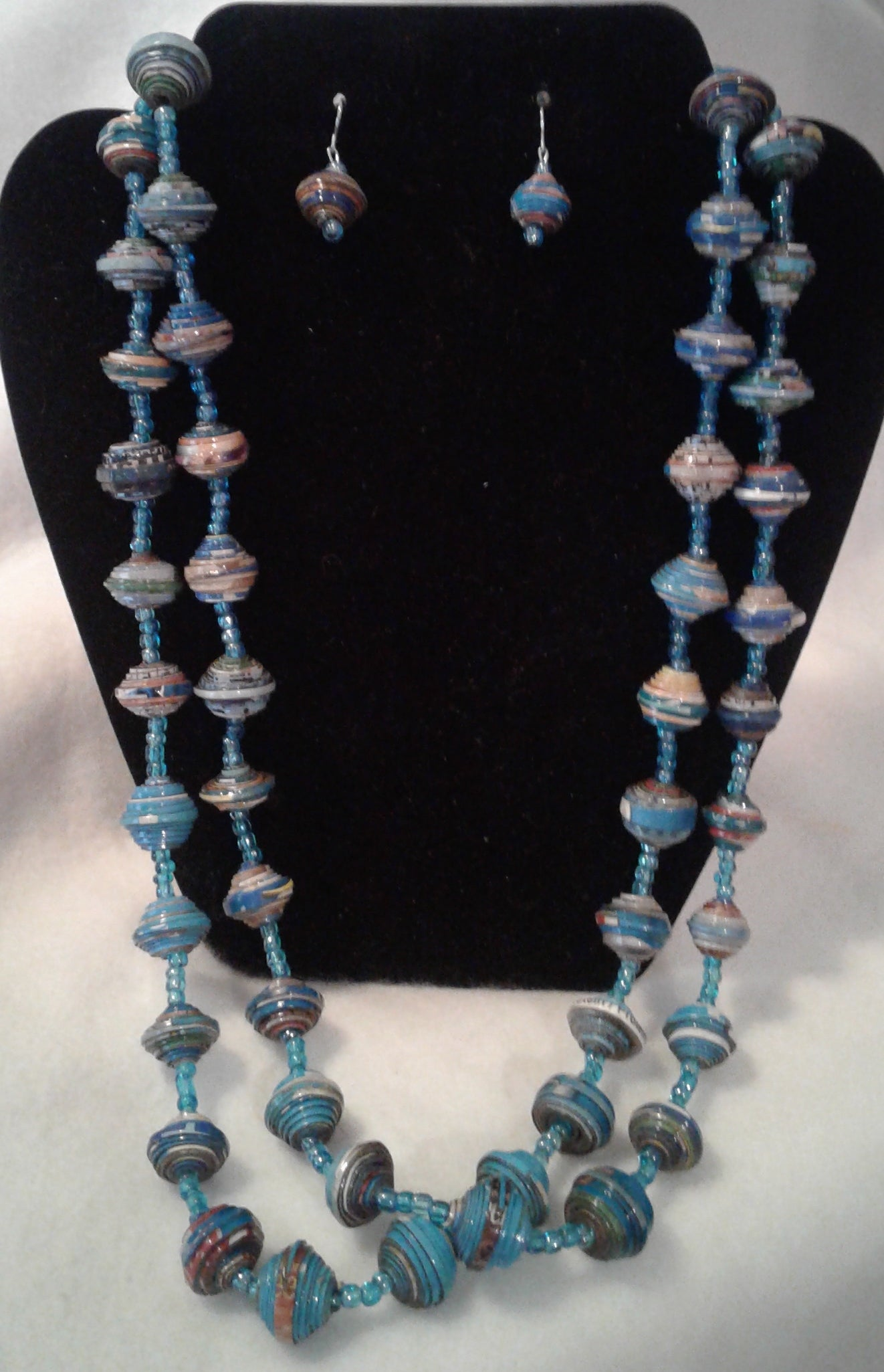 Long Necklace and Earring Set