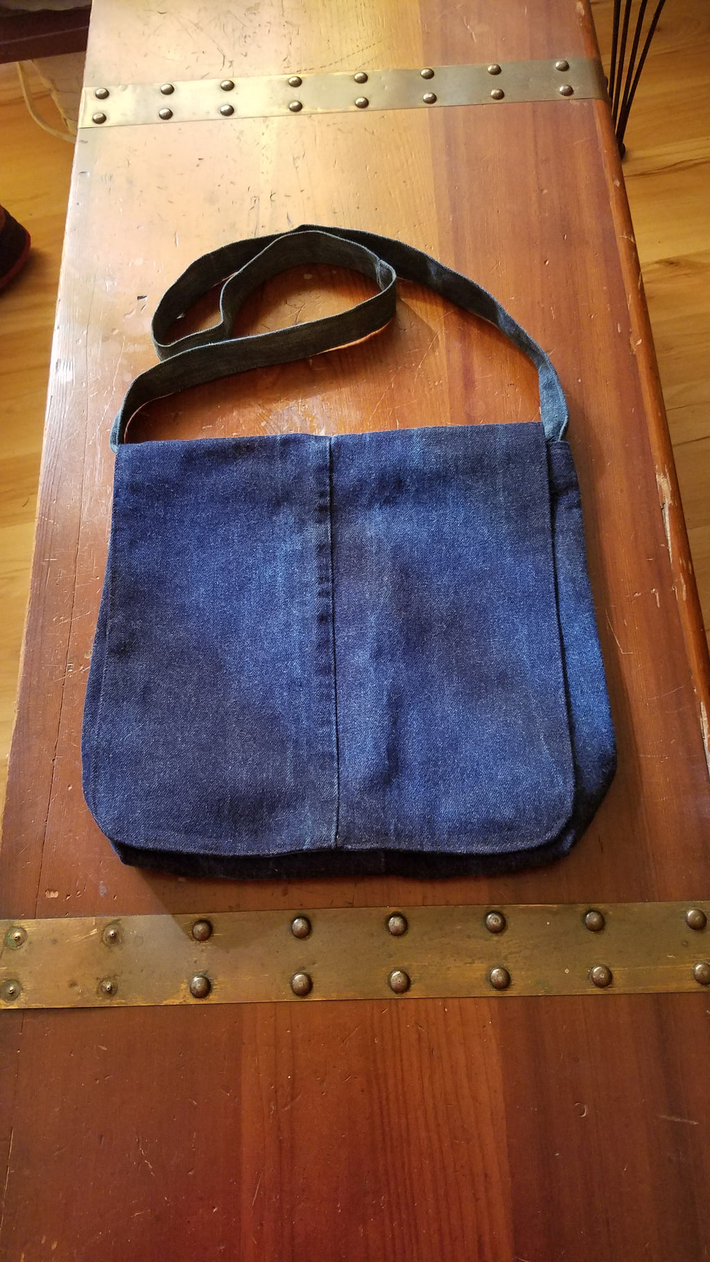 Recycled Jeans Handbag
