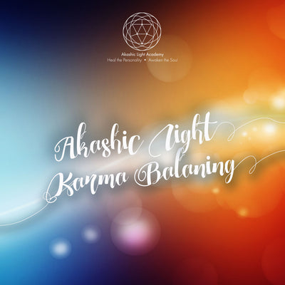 Akashic Light Karma Balancing for Self