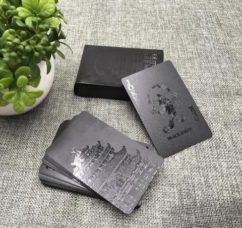HD Black Diamond Playing Cards Deal