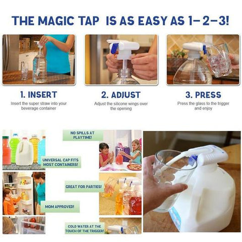 Magic Tap Drink Dispenser