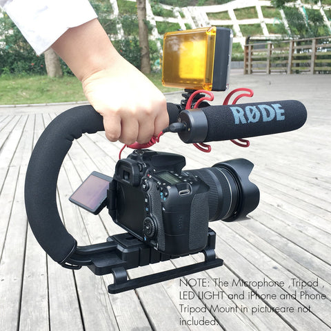 4-in-1 Smartphone Action Camera Stabilizer