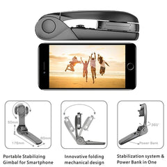 2 in 1 Stabilizer and Powerbank for Smartphones