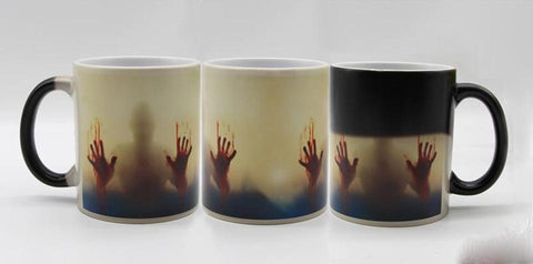 Zombie Hands™ Heat Sensitive Changing Coffee Mug