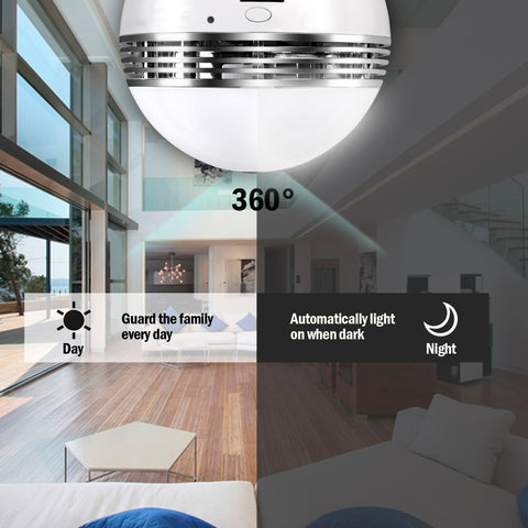 360 HD Panoramic Smart Home Camera Offer
