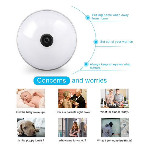 360 HD Panoramic Smart Home Camera