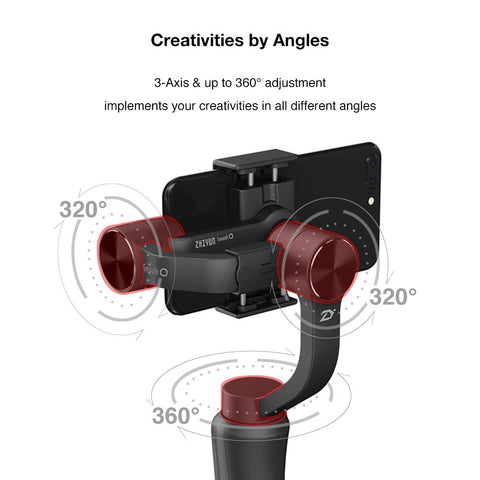 HD Action Stabilizer for Smartphone & Go Pro Cameras