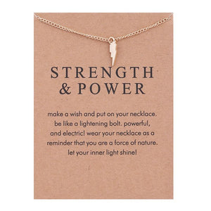 Strength and Power Necklace - Hypnobirthing Journey