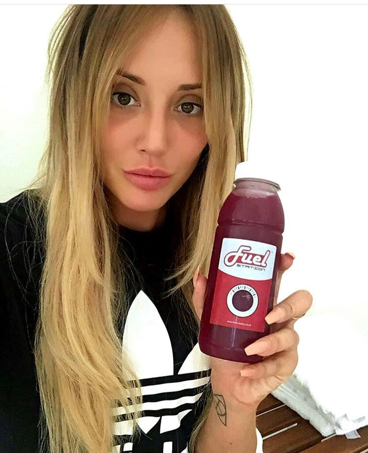 CHARLOTTE CROSBY OWNS HER 5 DAY DETOX IN SERIOUS STYLE