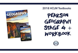 PEARSON GEOGRAPHY STAGE 4 + WORKBOOK PACK - YEAR 8