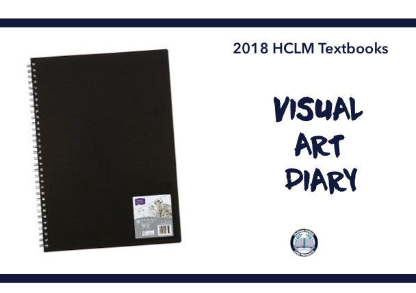 VISUAL ART DIARY - YEAR 8