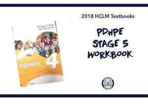 PDHPE STAGE 5 WORKBOOK - YEAR 10