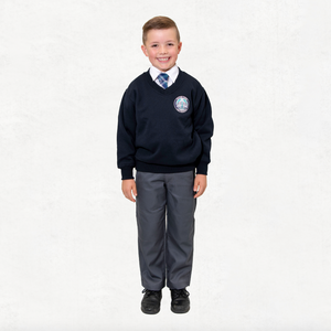 Navy Fleece Jumper (Primary Only)