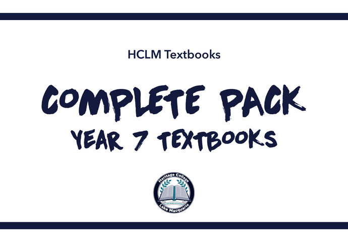 COMPLETE YEAR  7 PACK