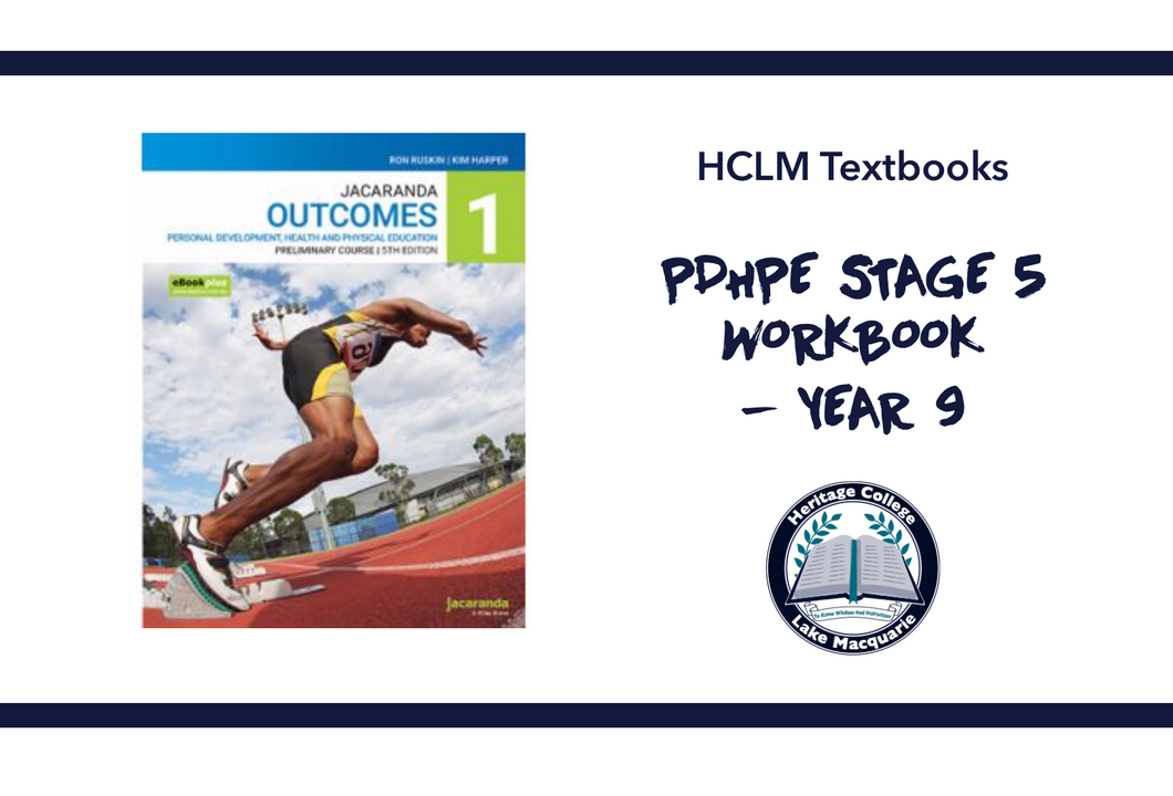 PDHPE STAGE 5 HIRE FEE - YEAR 9