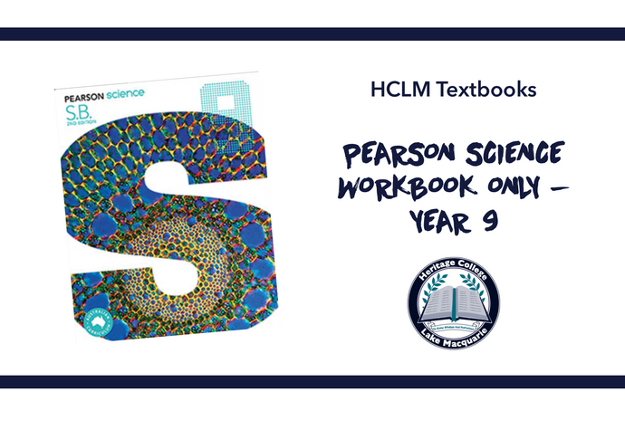 PEARSON SCIENCE WORKBOOK ONLY - YEAR 9
