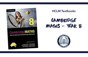 CAMBRIDGE MATHS - YEAR 8