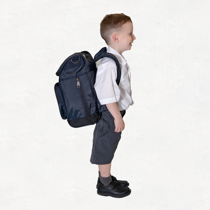 Primary School Backpack Navy Small