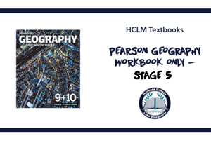 PEARSON GEOGRAPHY WORKBOOK ONLY - STAGE 5