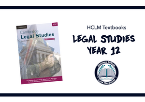 Mandatory - Cambridge Legal Studies HSC