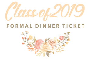 2019 Formal Dinner Ticket