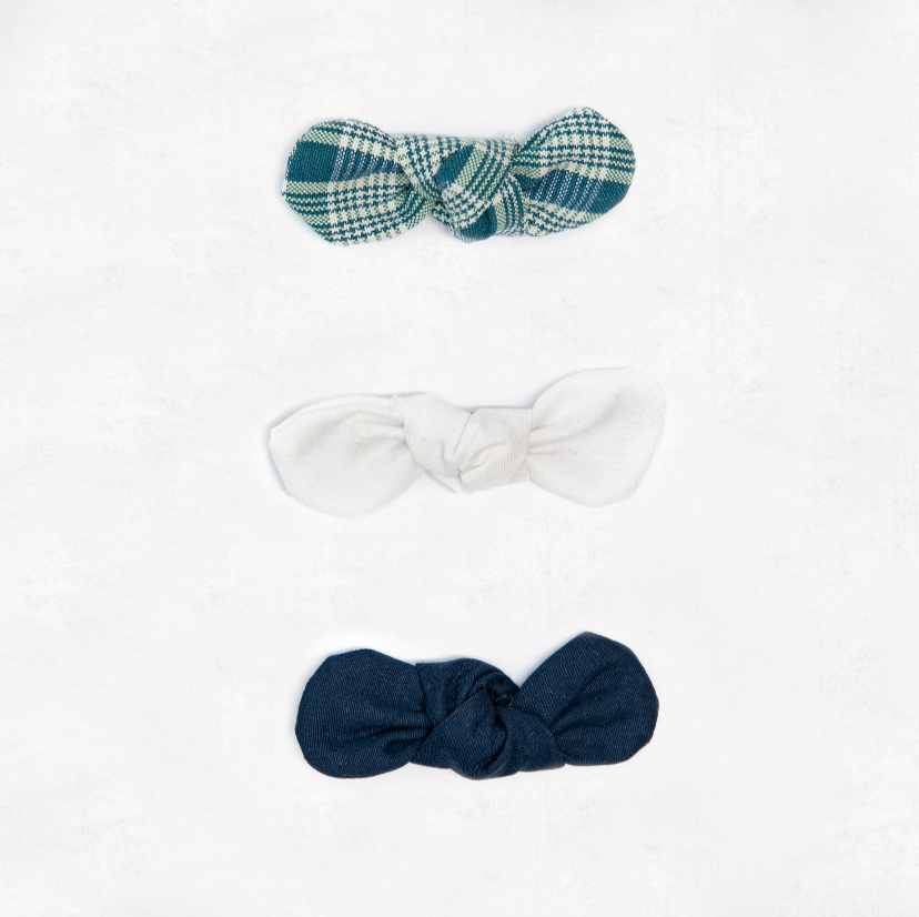 Small Hair Bows - 3 Pack