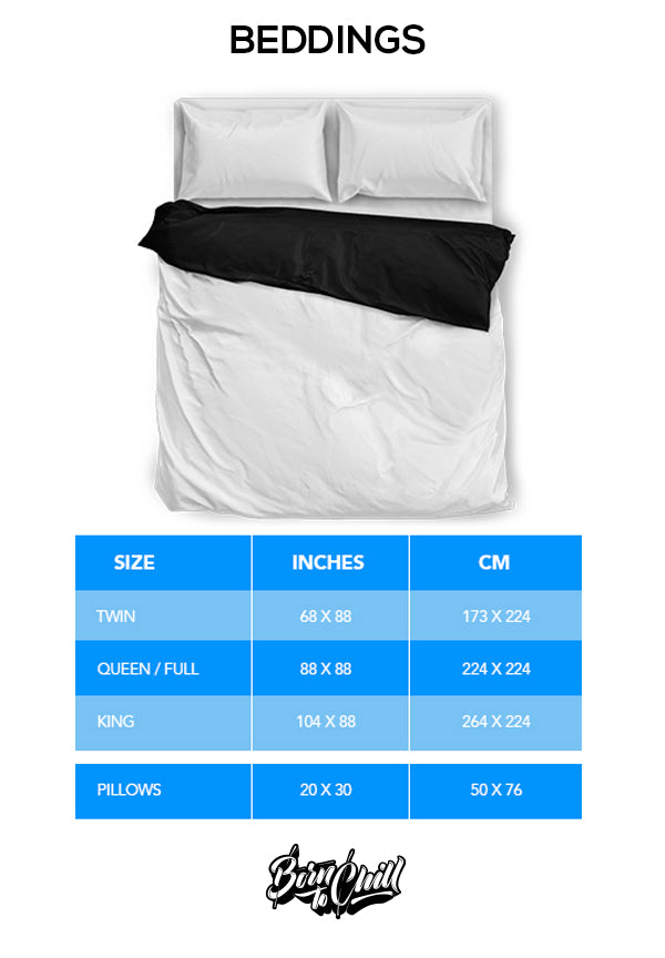 Size Chart Beddings