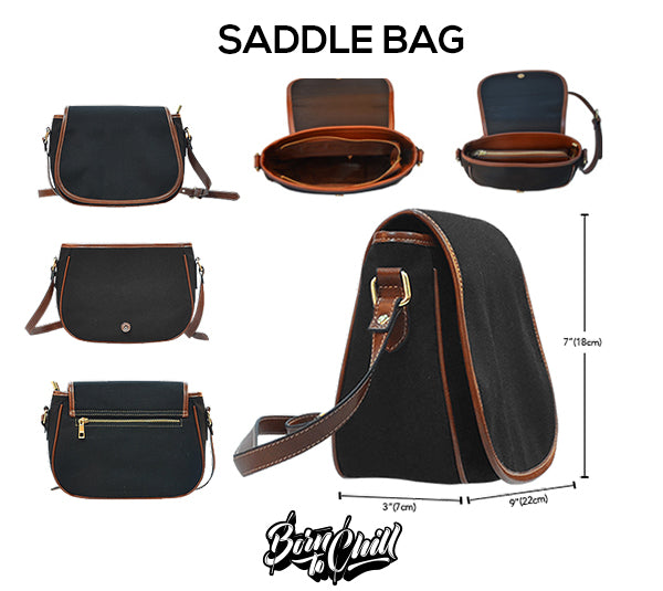 Size Chart Saddle Bag