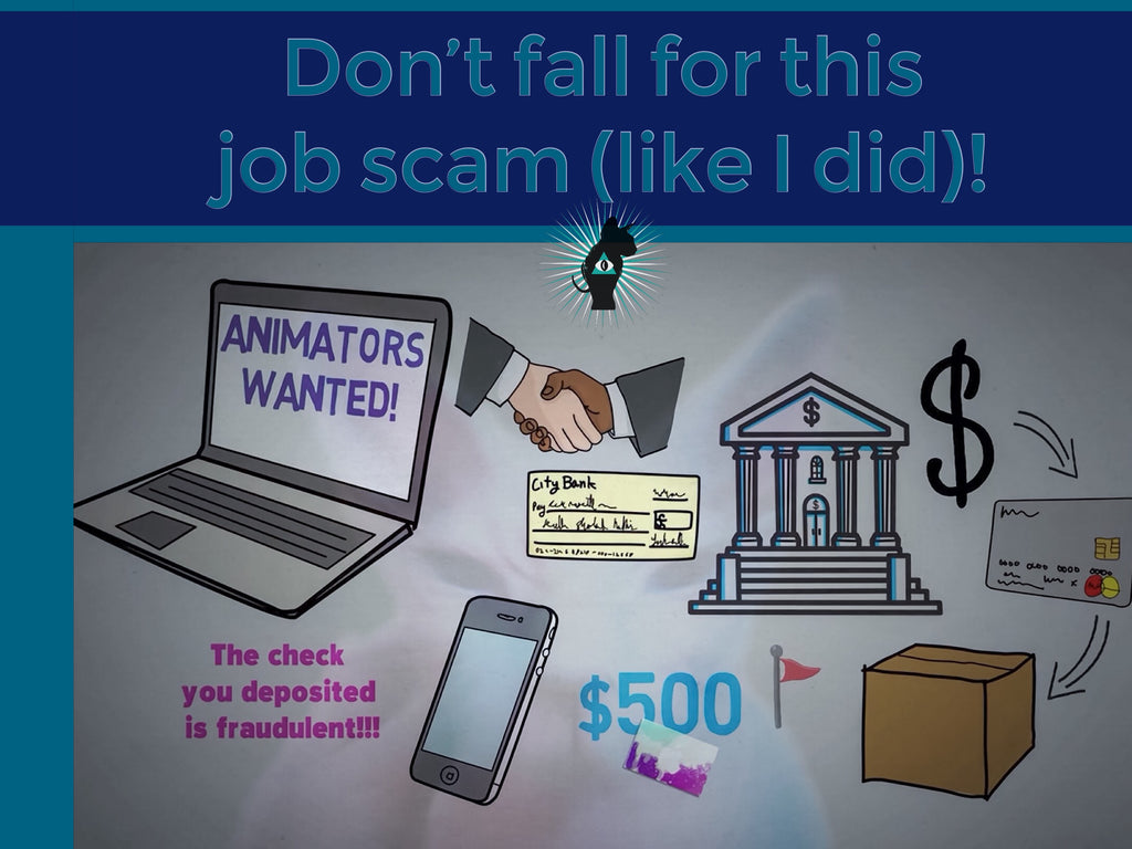 Don't fall for this job scam (like I did)!
