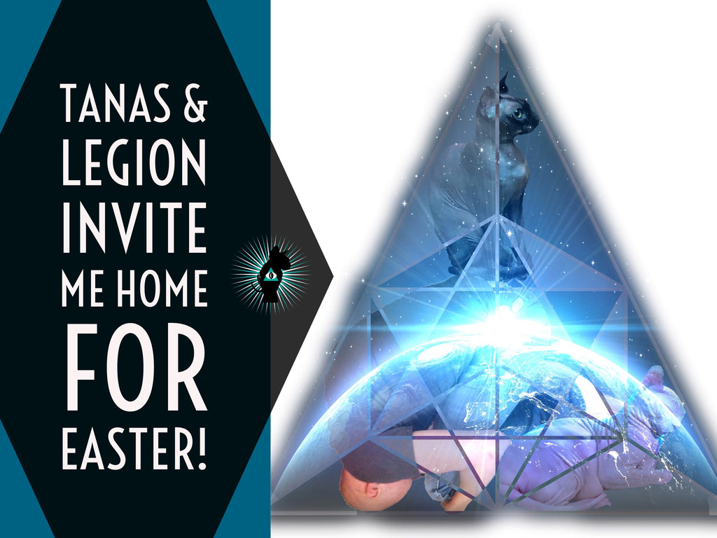 Tanas & Legion invite me home for Easter