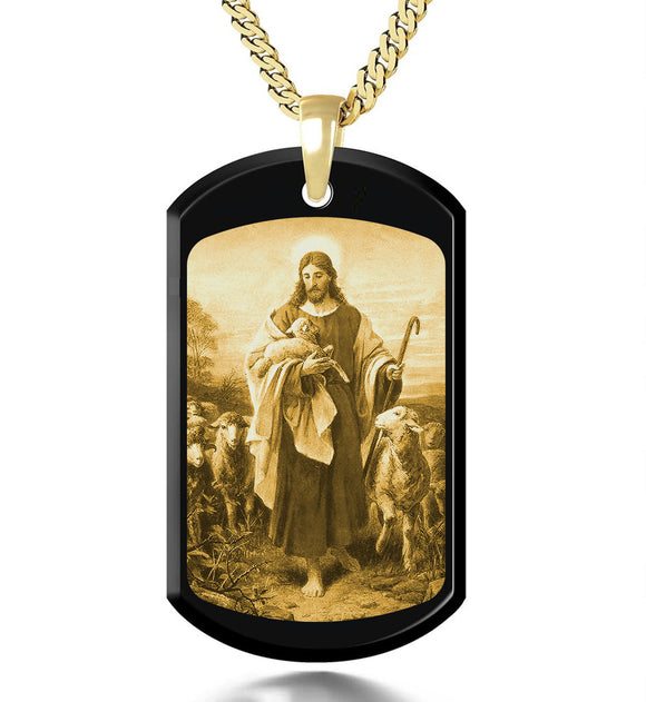Jesus Gold picture on Gemstone