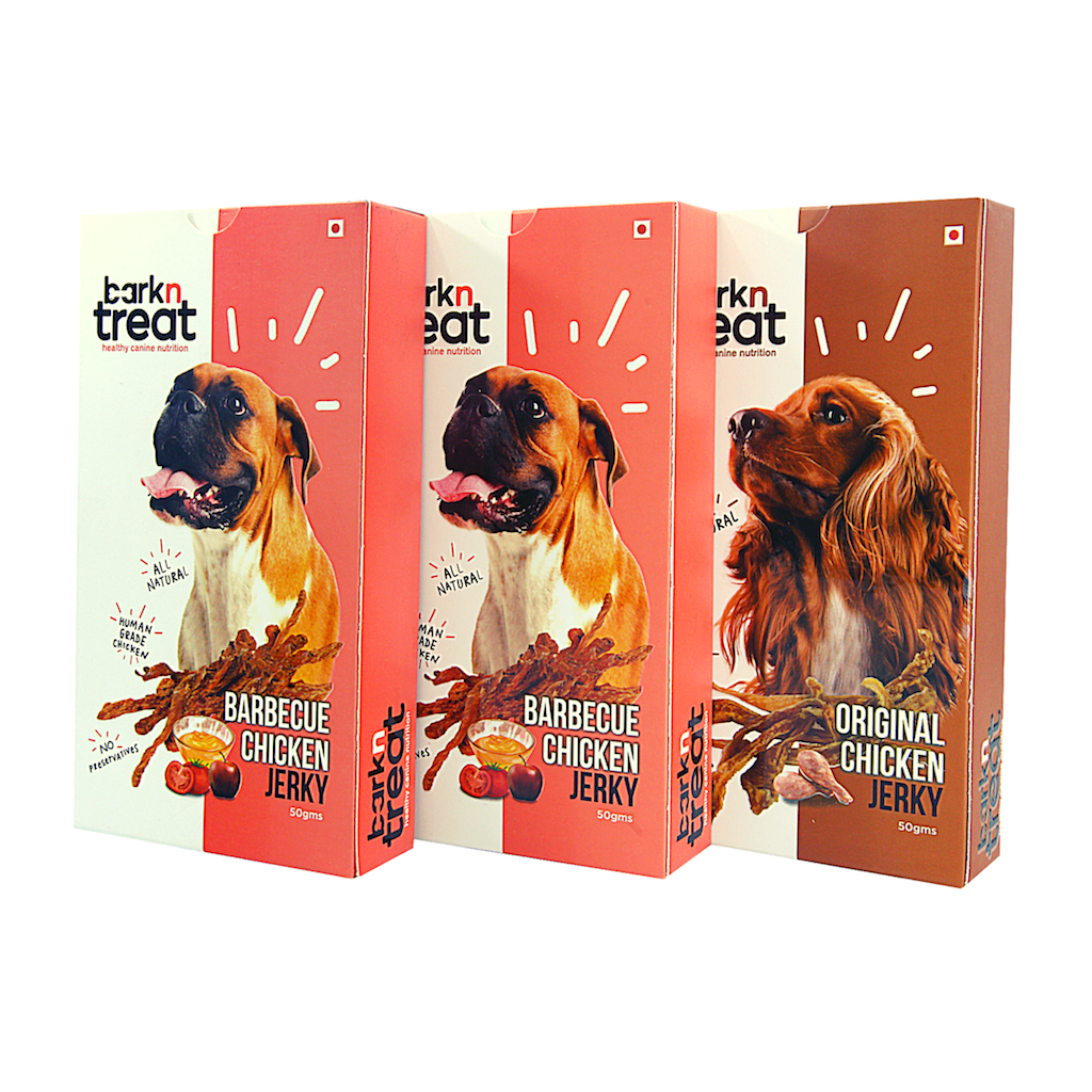 Pure Meaty Dog Jerky Combo 50gms - pack of 3
