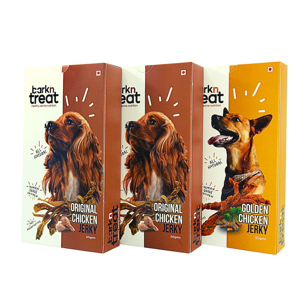 Pack of 3 - Pure Meaty Jerky Combo 50gms