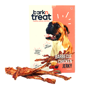 Barbeque Chicken Dog Jerky 100gms