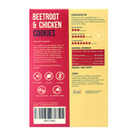 Load image into Gallery viewer, Beetroot & Chicken Dog Cookies