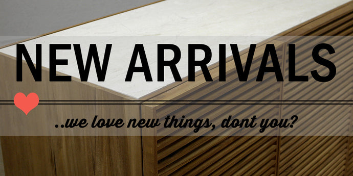 New Arrivals and Scandinavian Style Outdoor Furniture
