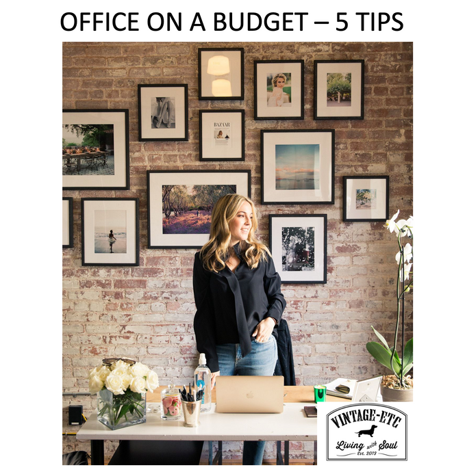 Home Office on a budget ? 5 simple hacks to keep costs down