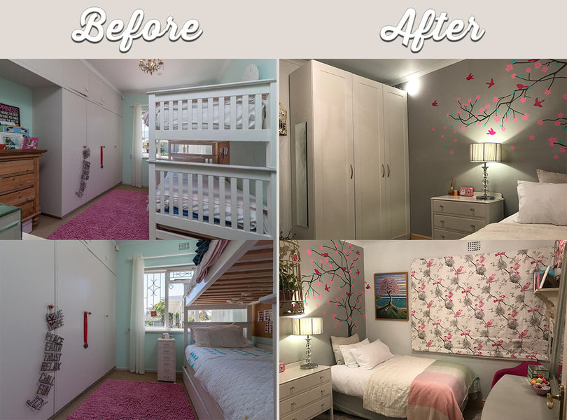 Teenage bedroom makeover