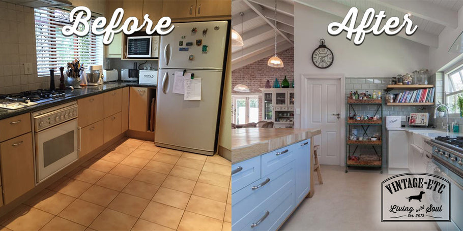 Bistro Kitchen Makeover