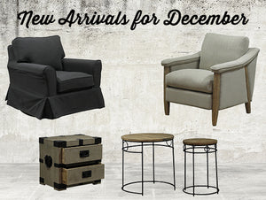 New arrivals for December