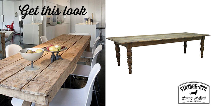 Get this look: Teak Dining Table